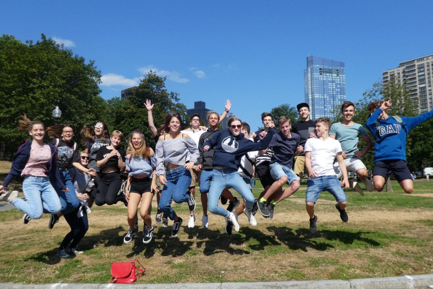 Austausch mit Hopkinton Middle High School 2017