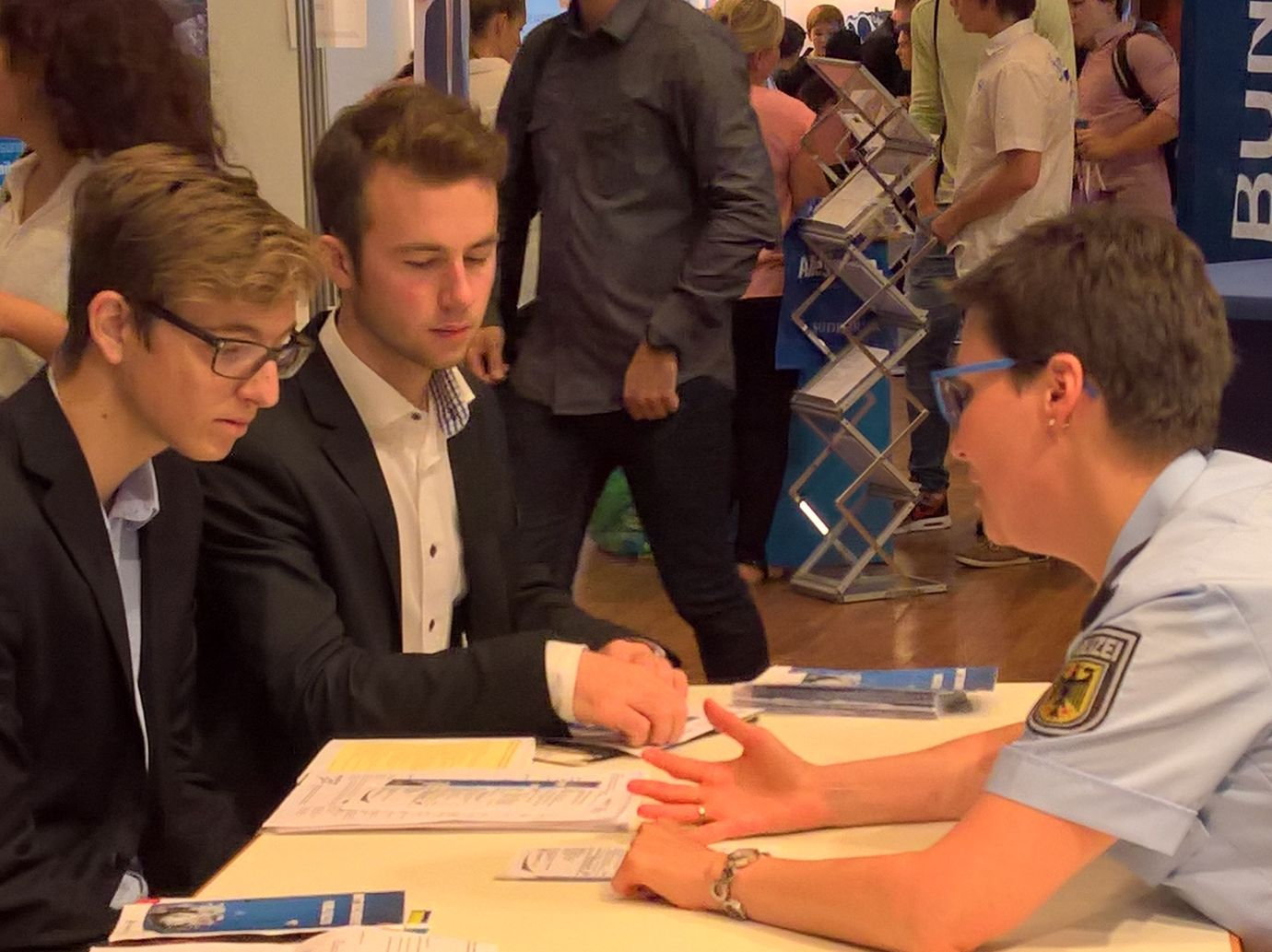 Q11 besucht die Fachmesse Vocatium in Friedrichshafen