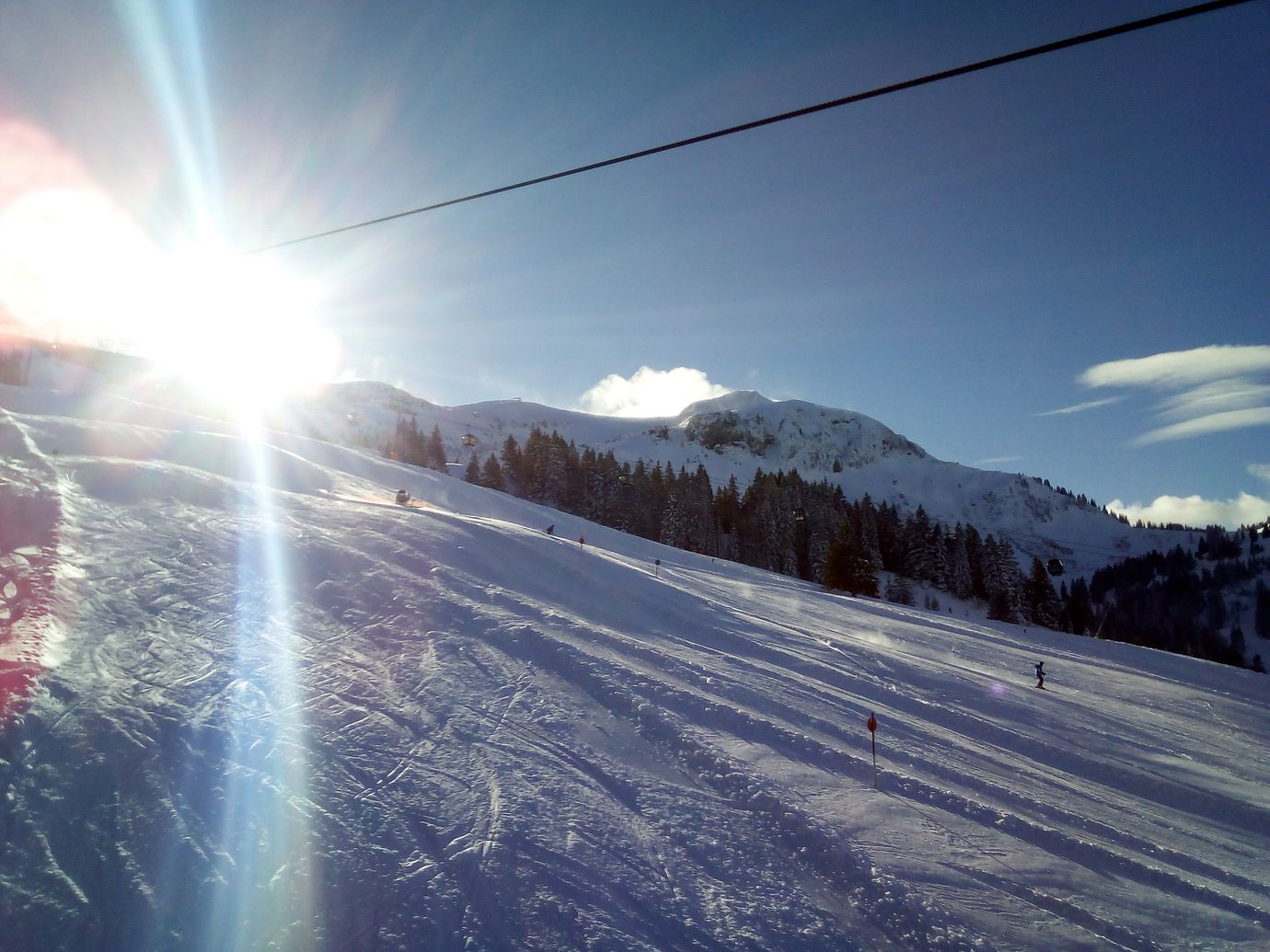 1. Skiausfahrt nach Mellau-Damüls im BOGY-Skiwinter 2017/2018