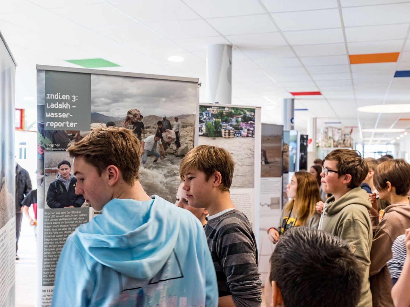 """Ausstellung """"Wir alle sind Zeugen — Menschen im Klimawandel"""""""