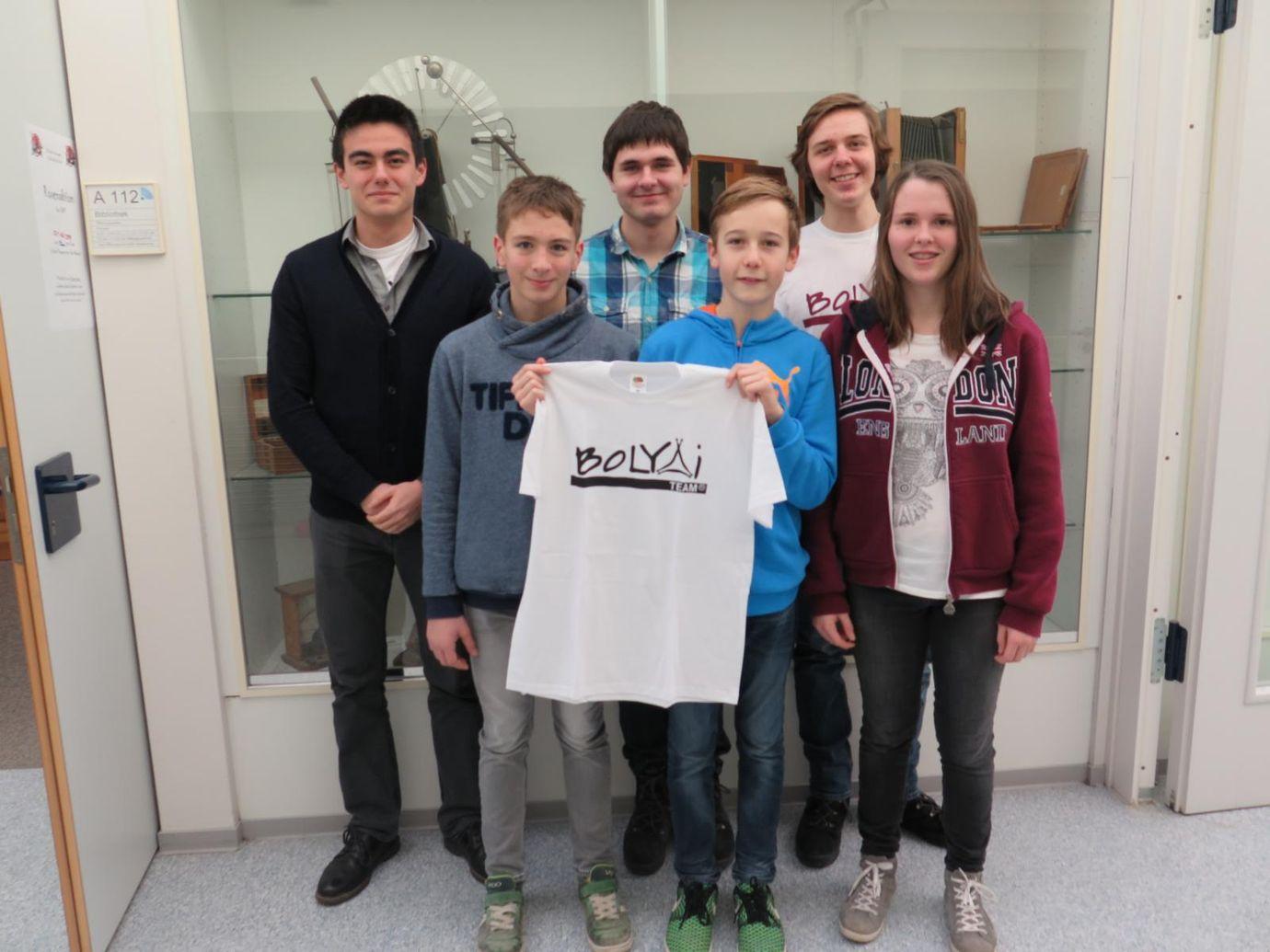 BOGY erfolgreich beim Bolyai-Teamwettbewerb Mathematik