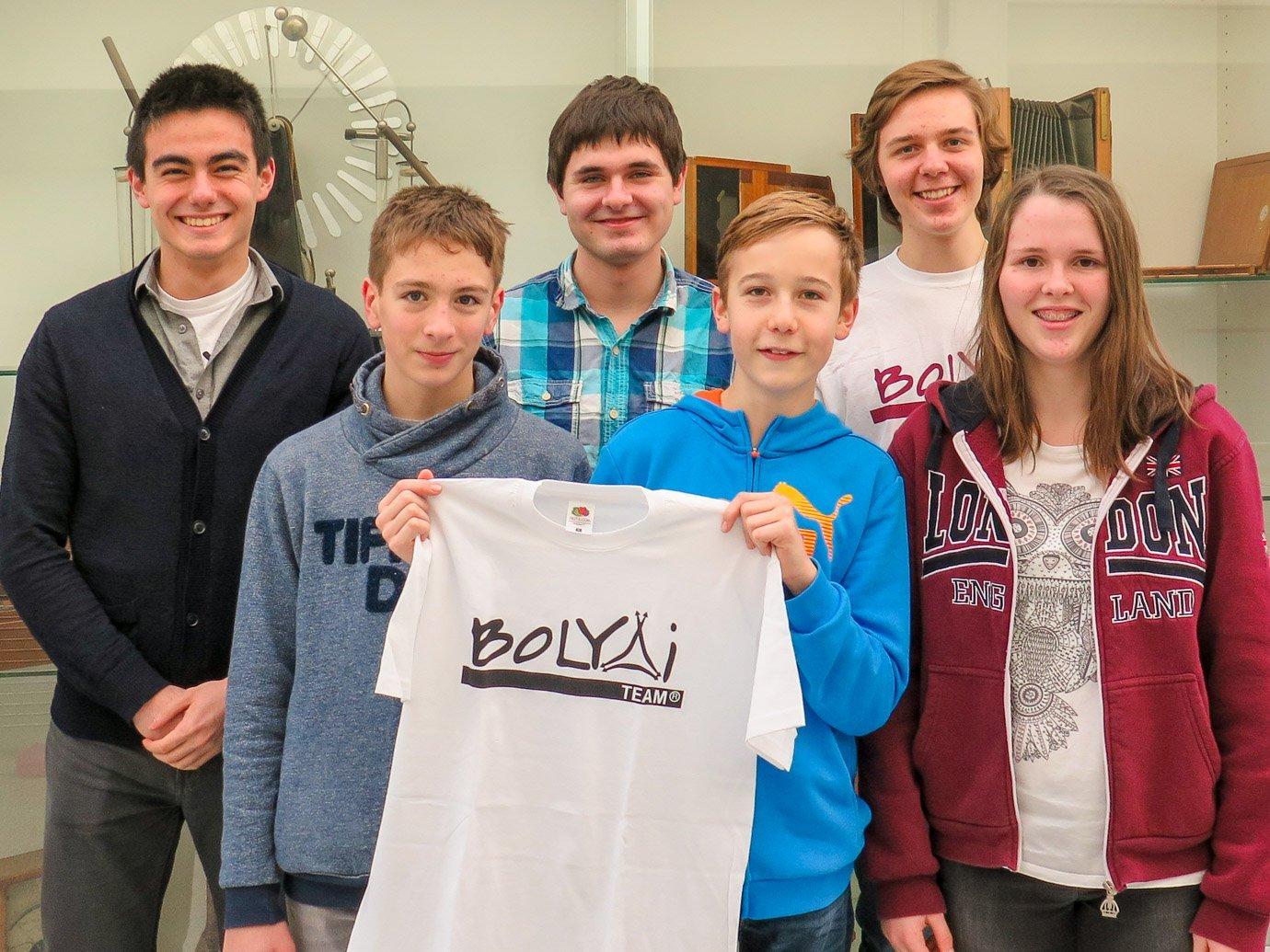 Teamsieger beim Bolyai-Wettbewerb