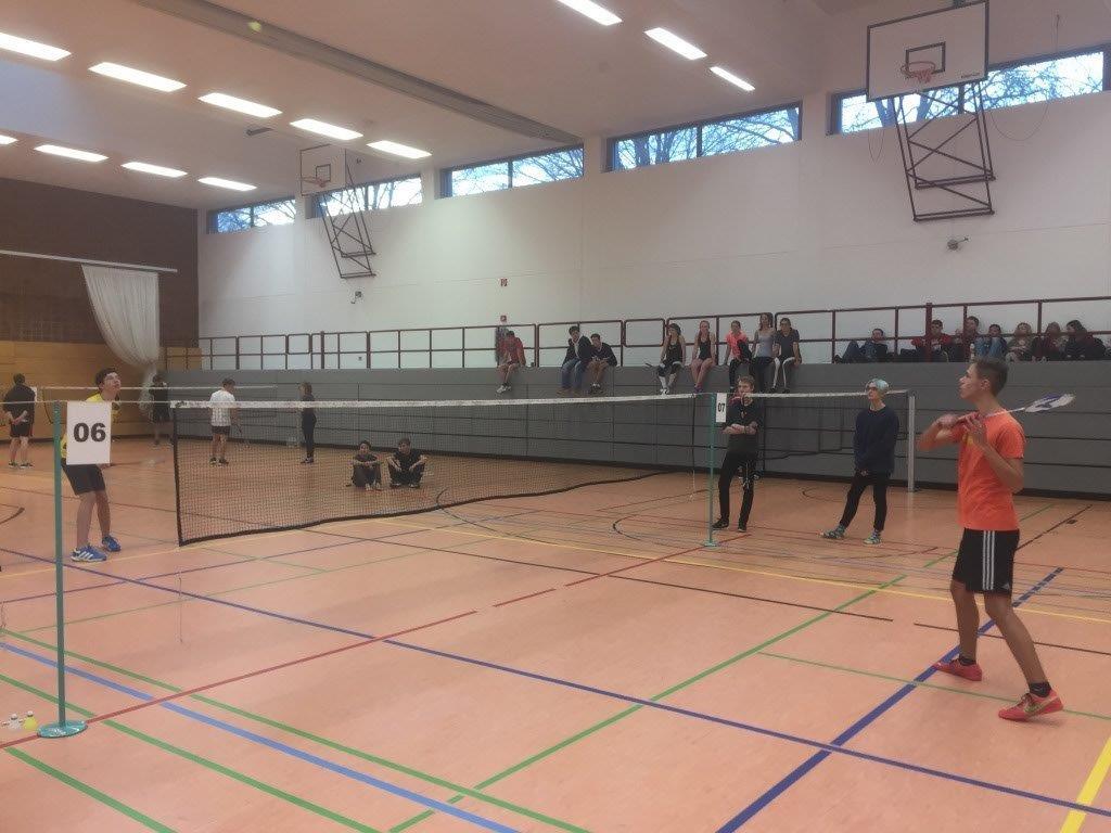 Weihnachtsturnier Badminton 2018