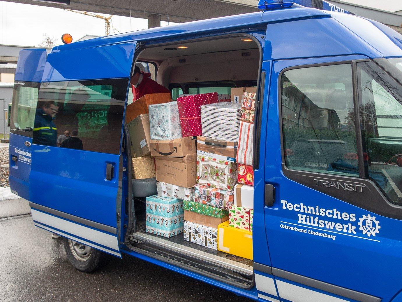 SMV sammelt 120 Päckchen für bedürftige Kinder